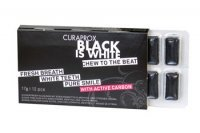 CURAPROX Black is White gumy do żucia 12szt