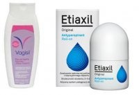 ETIAXIL ORIGINAL ROLL-ON 15ml + Vagisil Płyn GRATIS