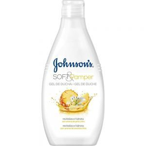 JOHNSON'S Soft&Pamper żel pod prysznic 750ml