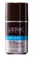 LIERAC HOMME DEO 24H roll-on dezodorant 50ml