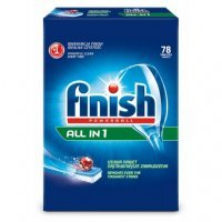 FINISH ALL IN 1 Tabletki 78 do Zmywarki 0,47zł/szt